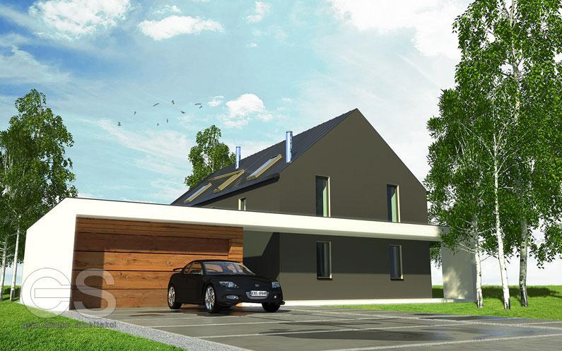 Dom jednorodzinny – Strzemieszyce Wielkie