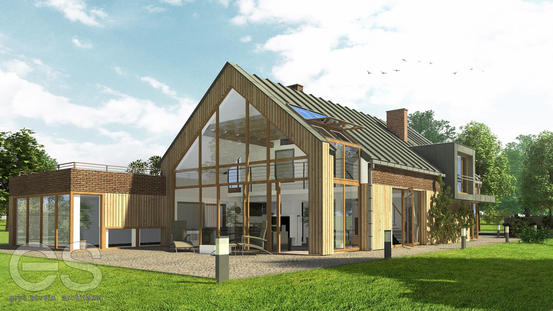 projekt dom jednorodzinny śląsk