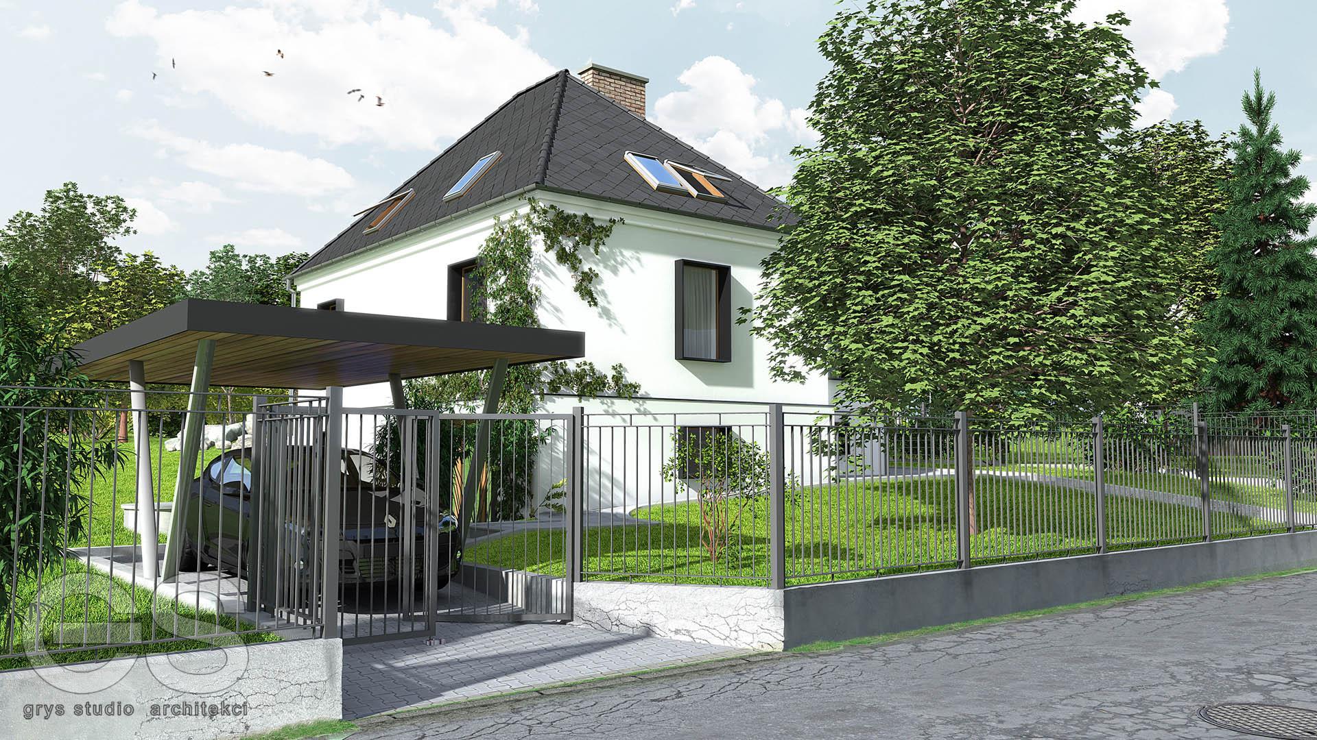 przebudowa remont remodeling domu jednorodzinnego w bielsku białej, projekt budowalny, projekt wykonawczy