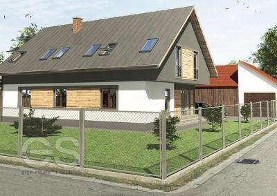 Przebudowa domu Stary Sącz (Moszczenica)