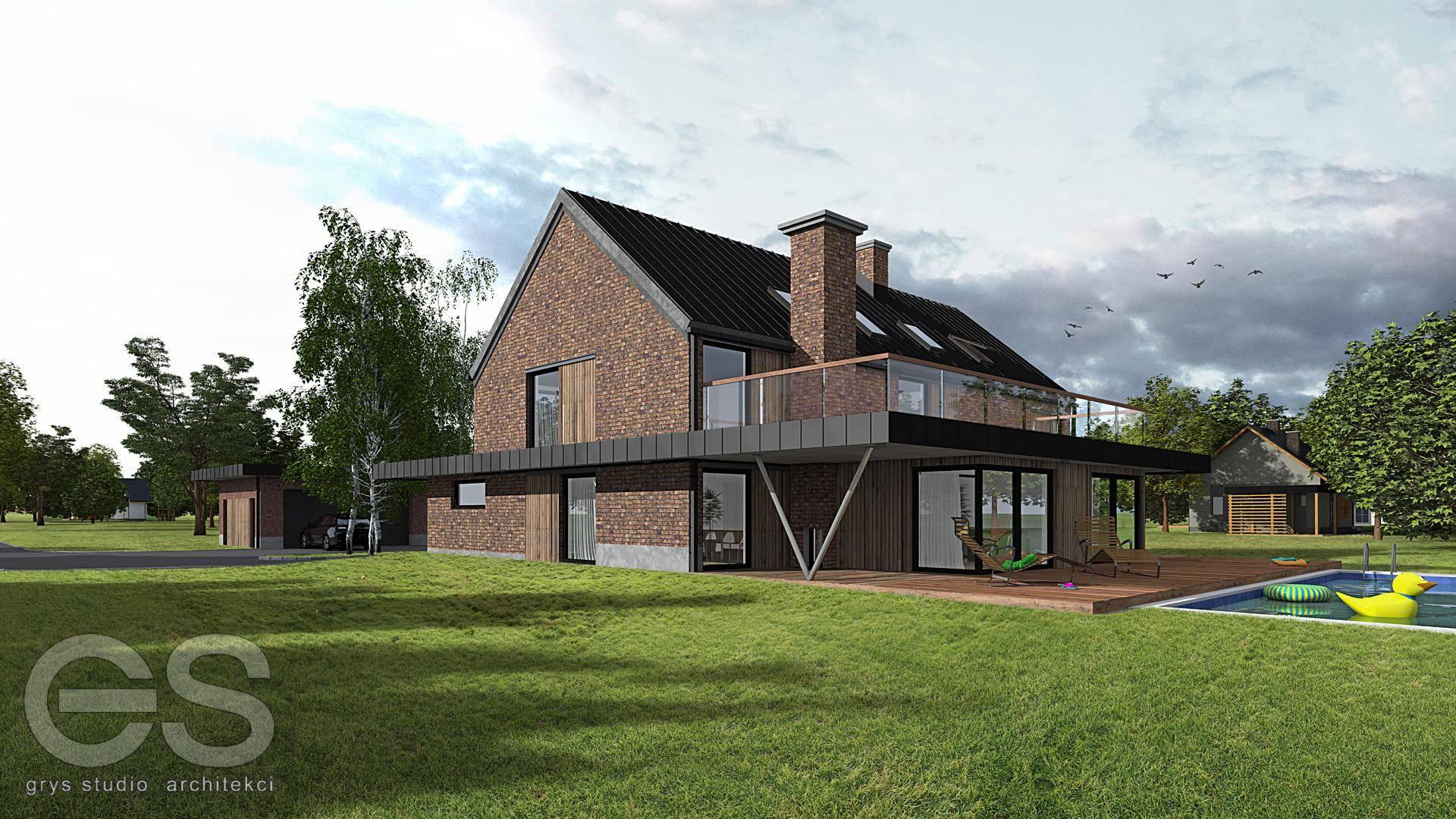 przebudowa domu jednorodzinnego czechowice dziedzice