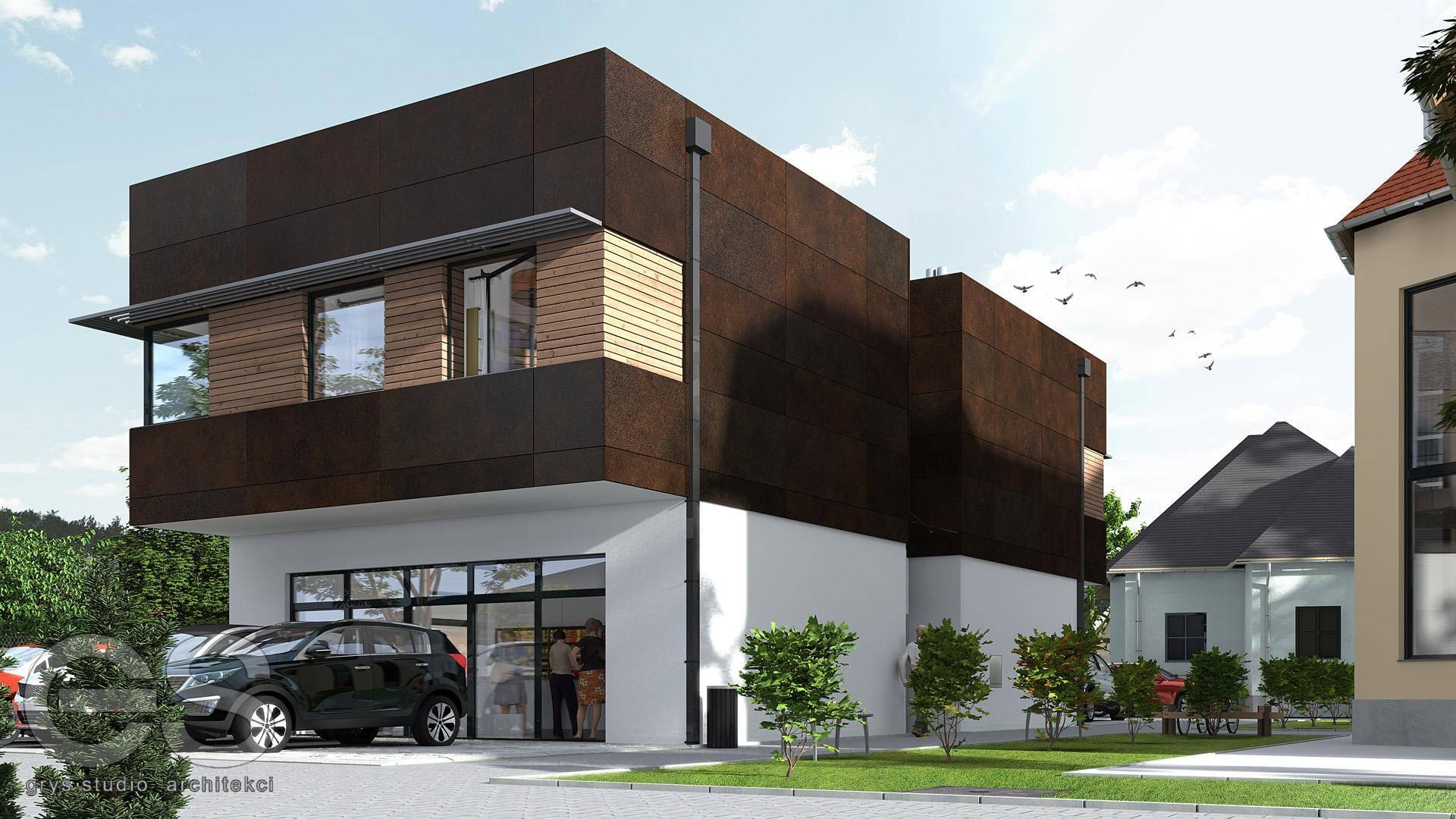 budynek biurowy bielsko-biała wapienica