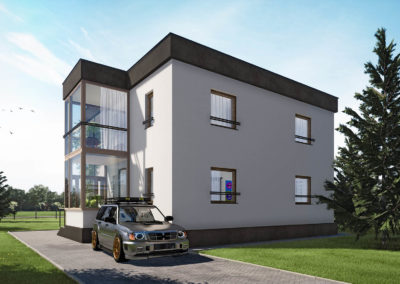 Przebudowa domu jednorodzinnego Katowice