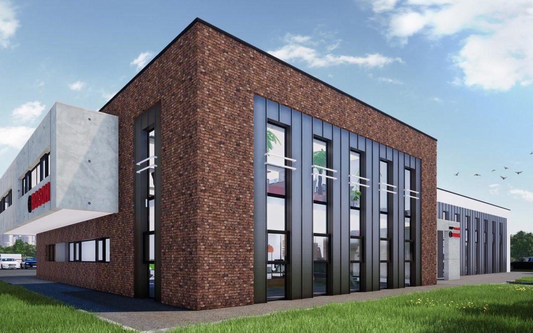 Budynek biurowy z halą serwisową