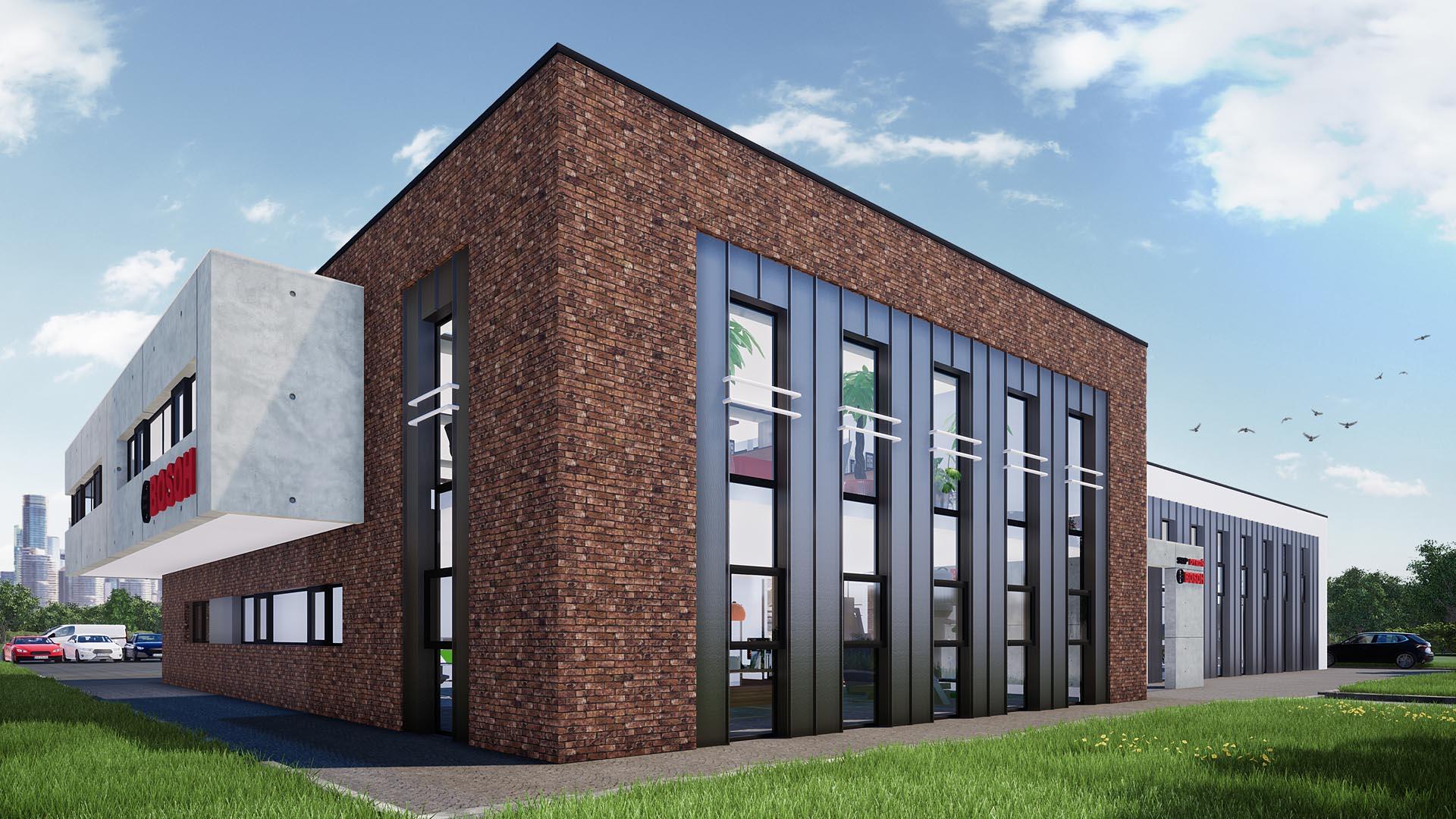 budynek biurowy bosch