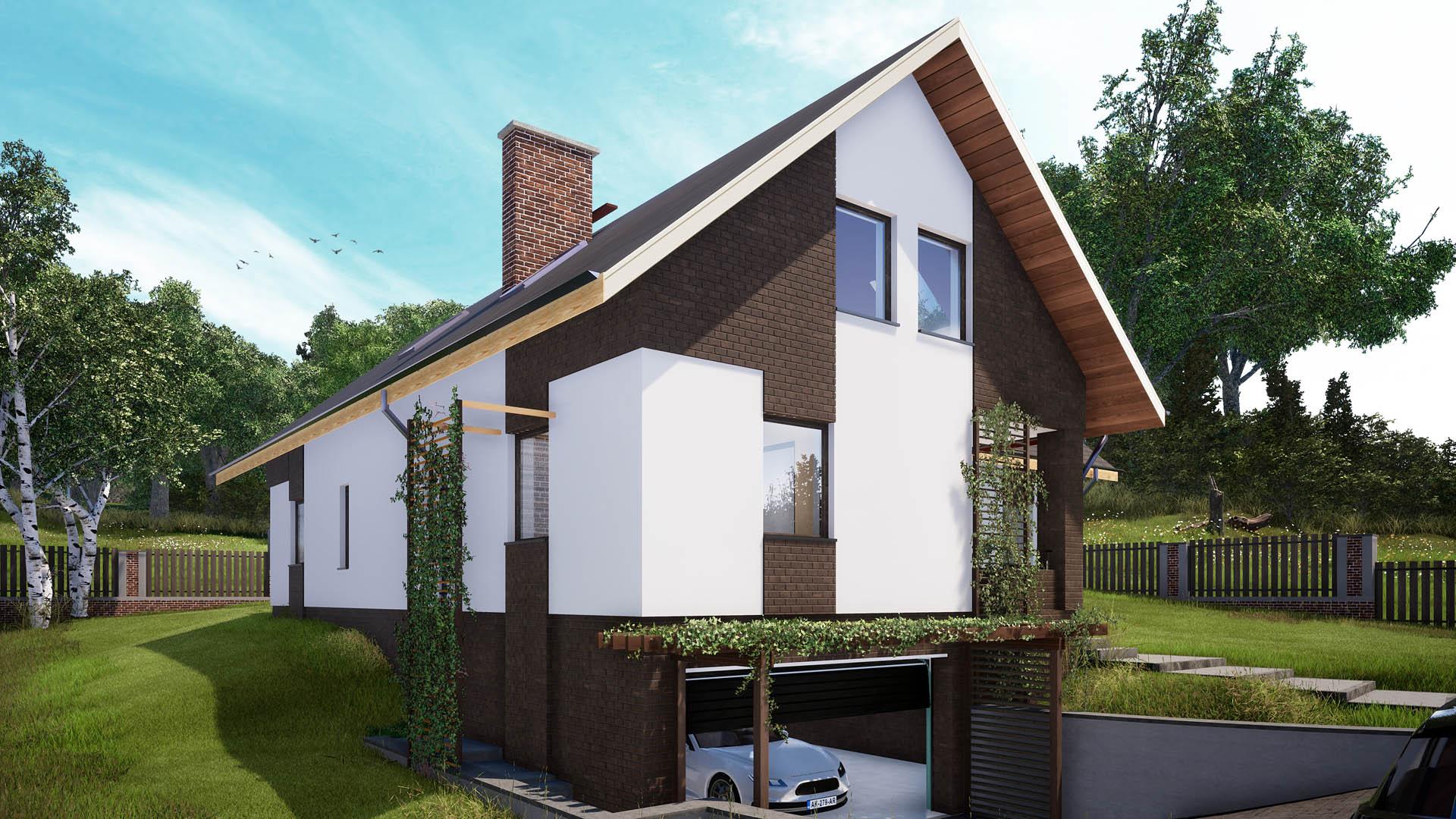 projekt dom bielsko biała