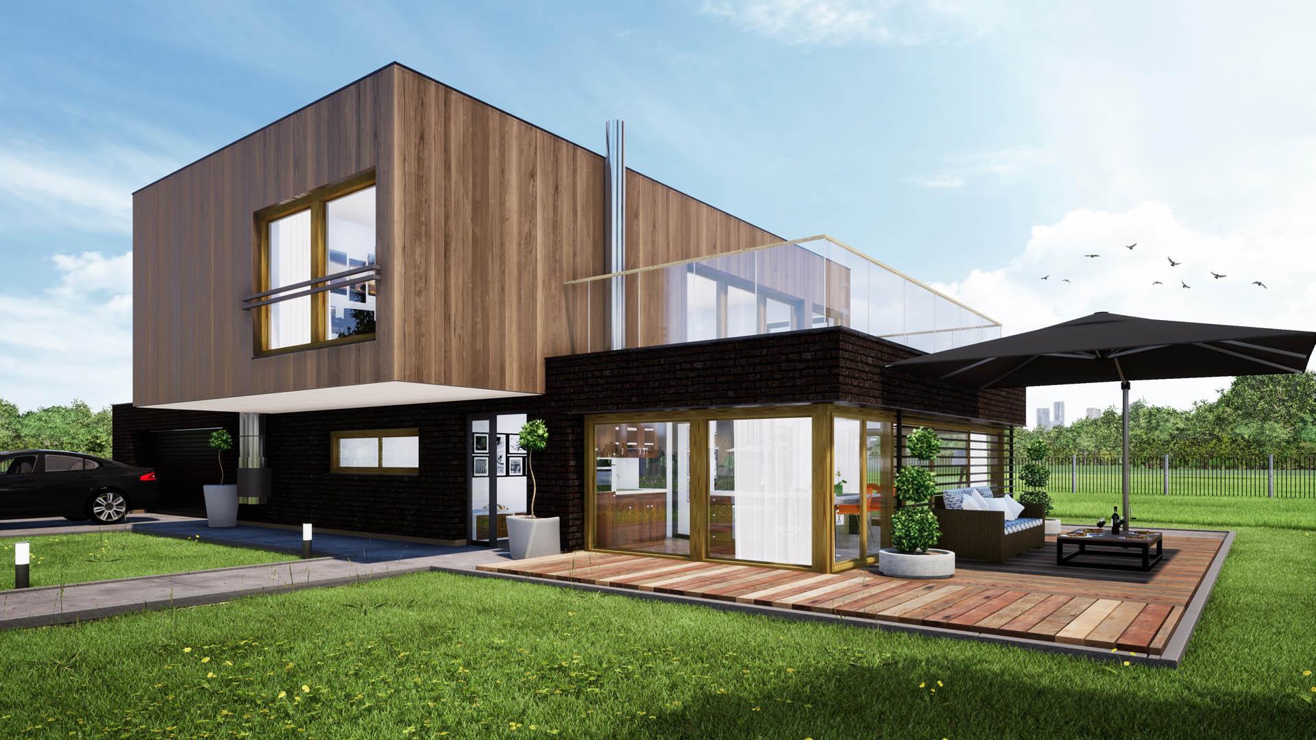 Dom w Poznaniu projekt