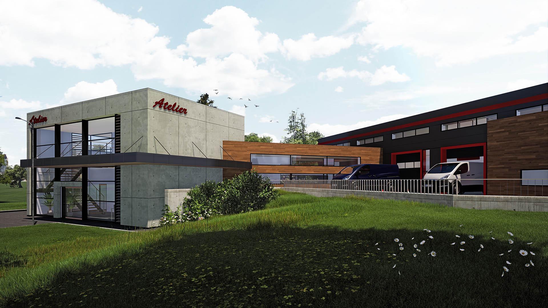 Projekt budynku produkcyjnego Gaj Kraków