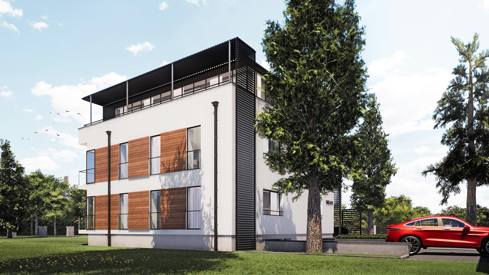 przebudowa domu jednorodzinnego Mikołów śląsk Katowice