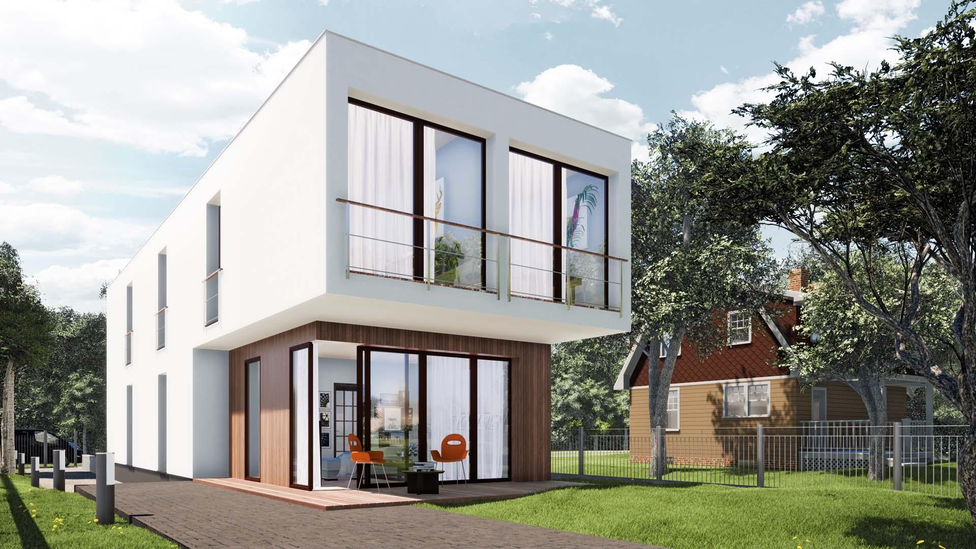 dom jednorodzinny Myszków śląsk projekt budowlany