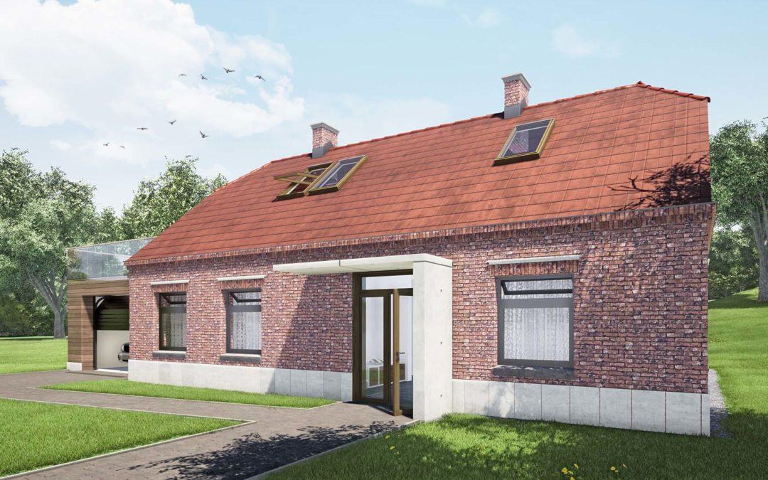 Przebudowa i rozbudowa domu Nieborowice