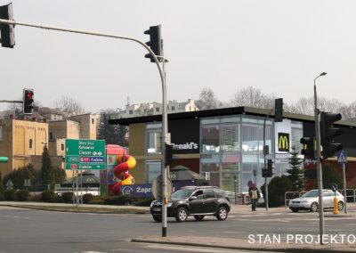 Budynek sieciowej restauracji Bielsko-Biała