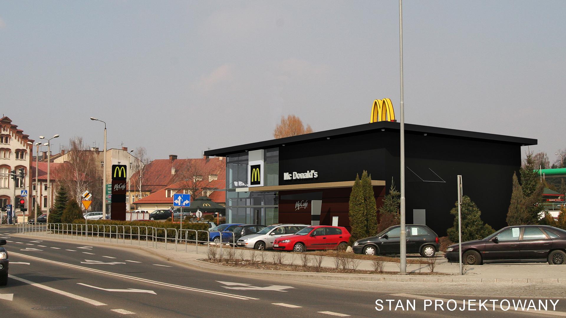 mc donalds restauracja sieciowa przebudowa bielsko-biała