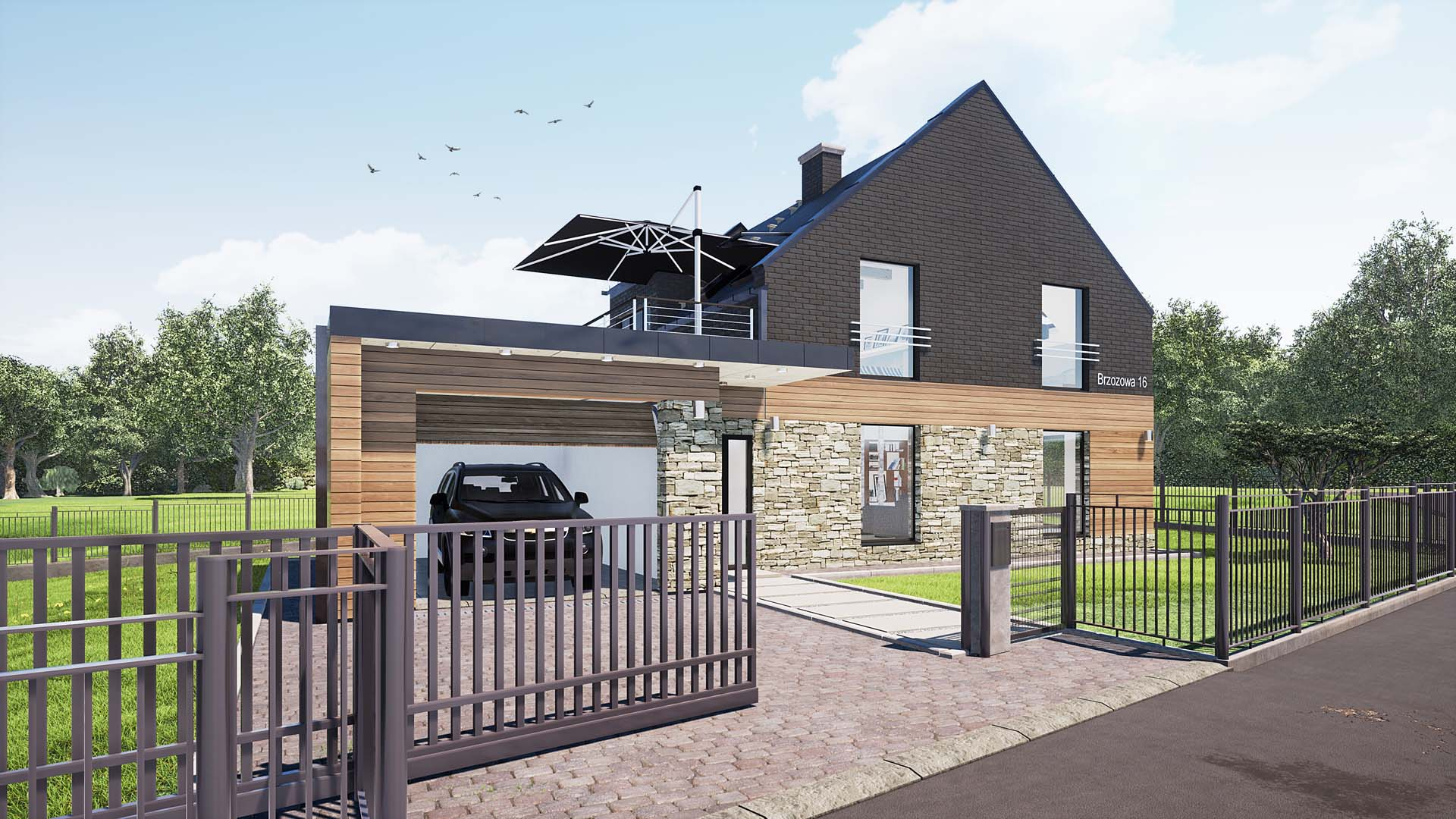 projekt przebudowy i rozbudowy domu