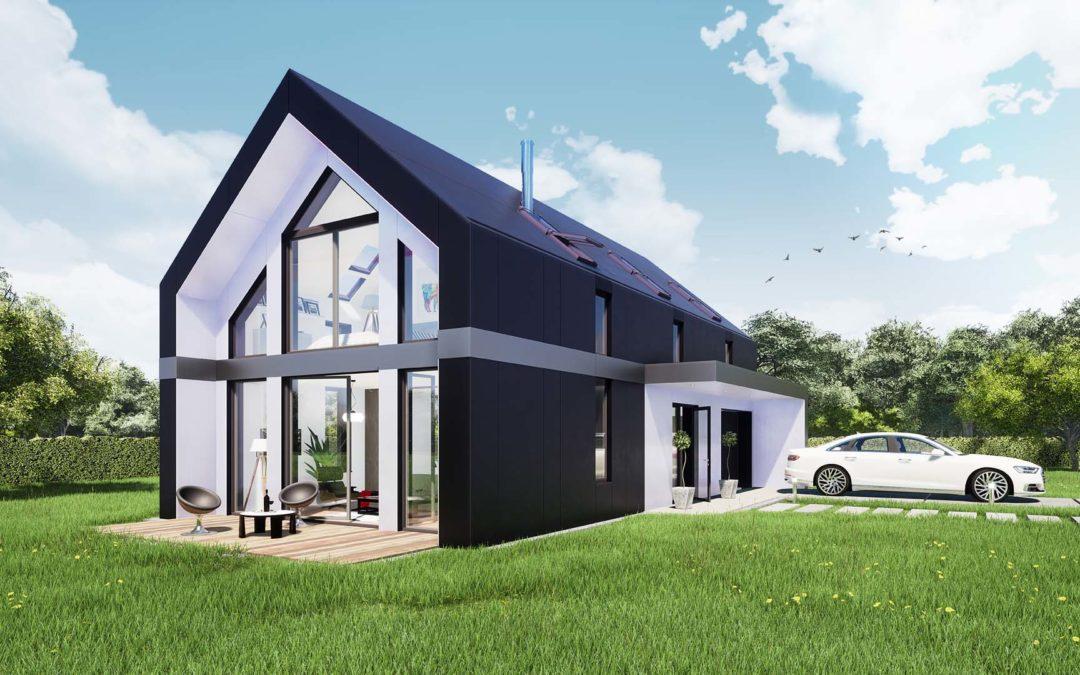Modelowy dom modułowy