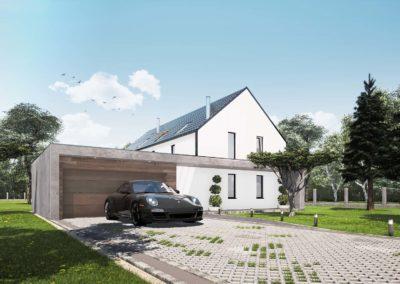 Dom jednorodzinny Strzemieszyce Wielkie (k. Katowic)