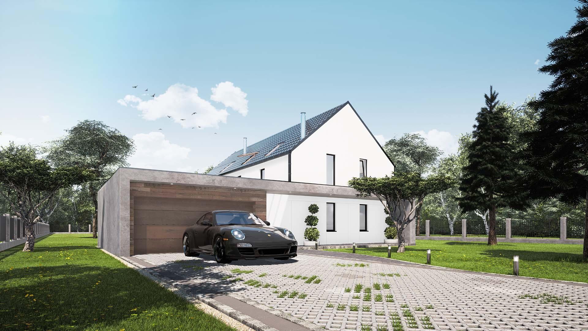 nowoczesny dom Śląsk projekt architektoniczny