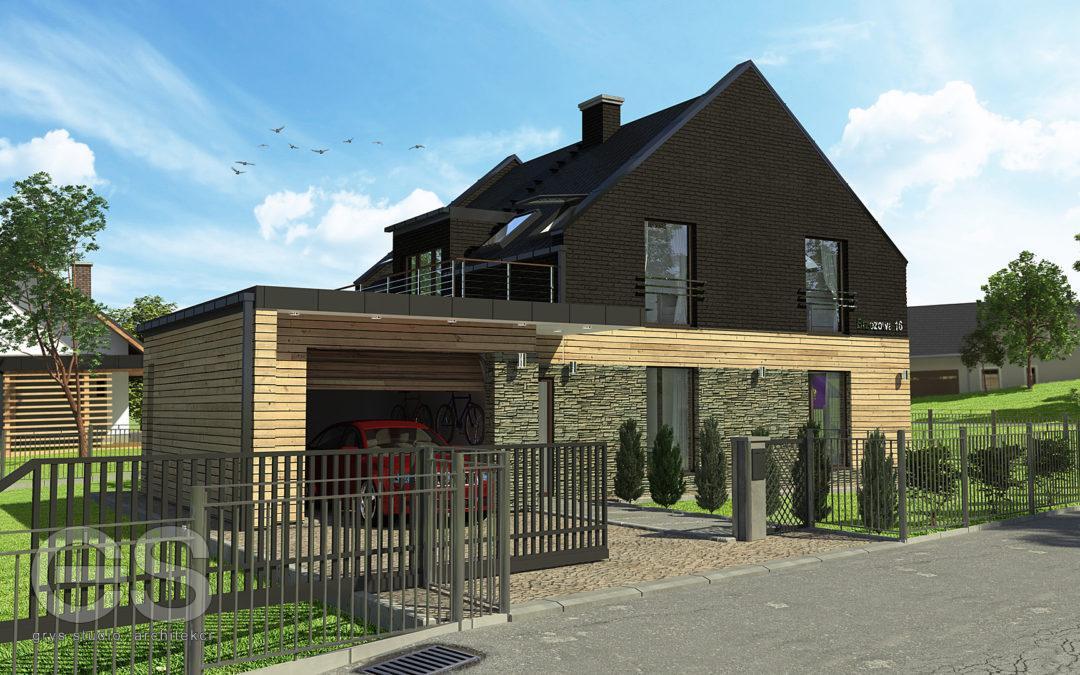 Przebudowa domu Stary Sącz