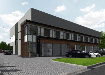 Przebudowa budynku usługowo handlowego z częścią mieszkalną – Harbutowice (Skoczów)