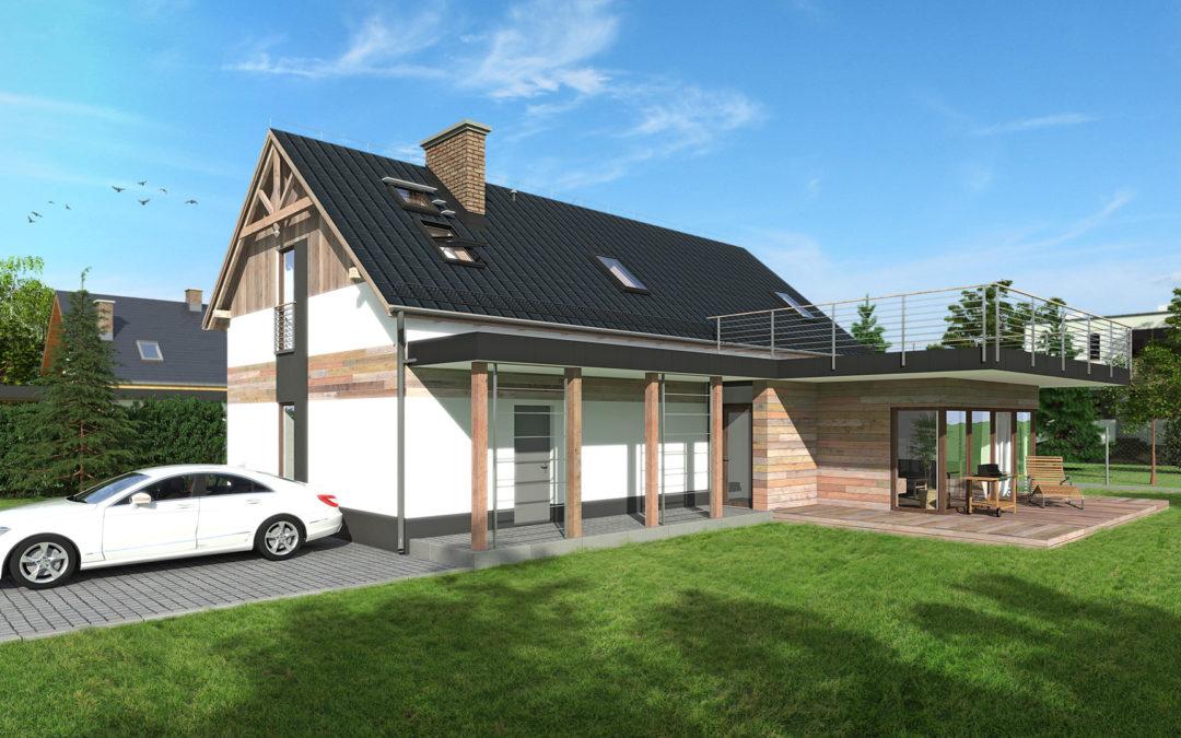 Przebudowa, rozbudowa i nadbudowa dom w Buczkowicach