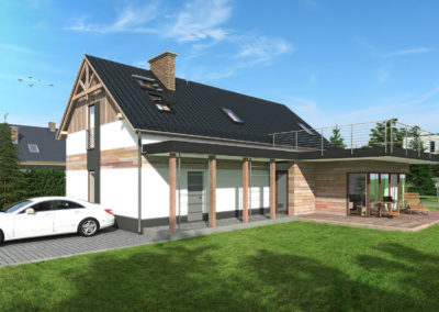 Rozbudowa i nadbudowa domu Buczkowice