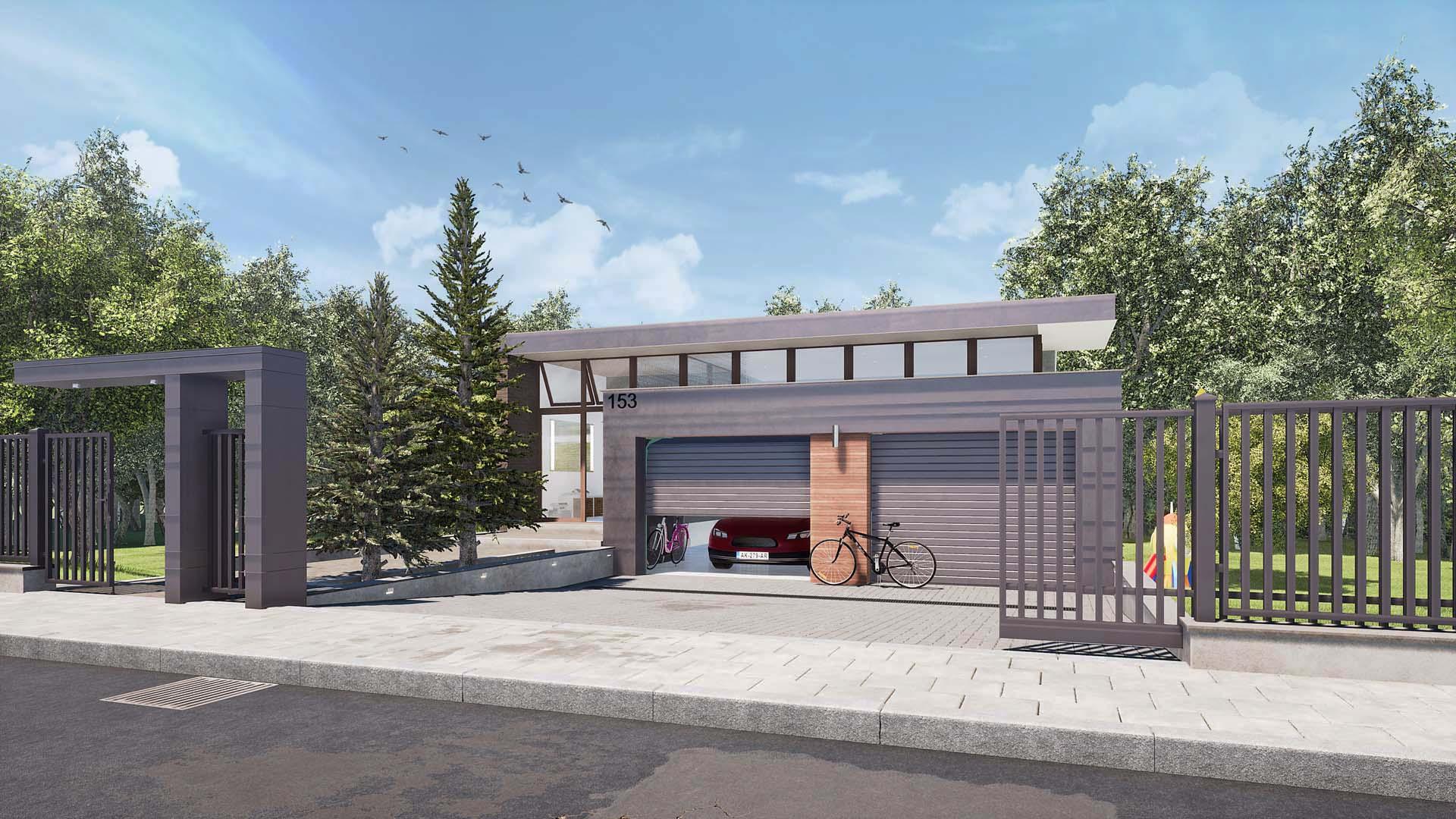 projekt domu Nowy Sącz  03