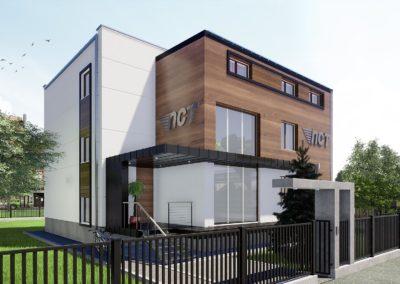 Przebudowa budynku – Wołomin