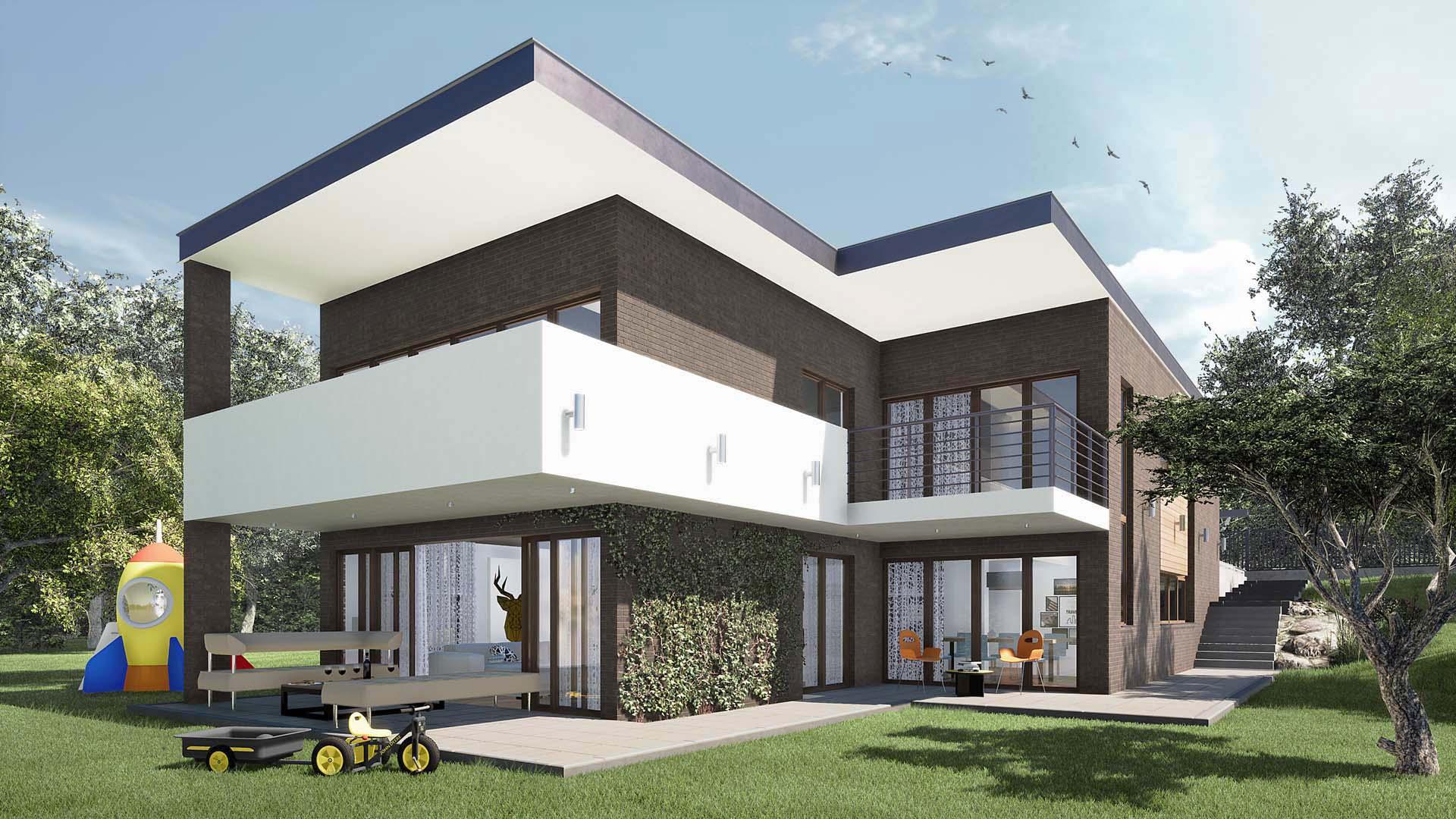 projekt dom jednorodzinny Nowy Sącz 03