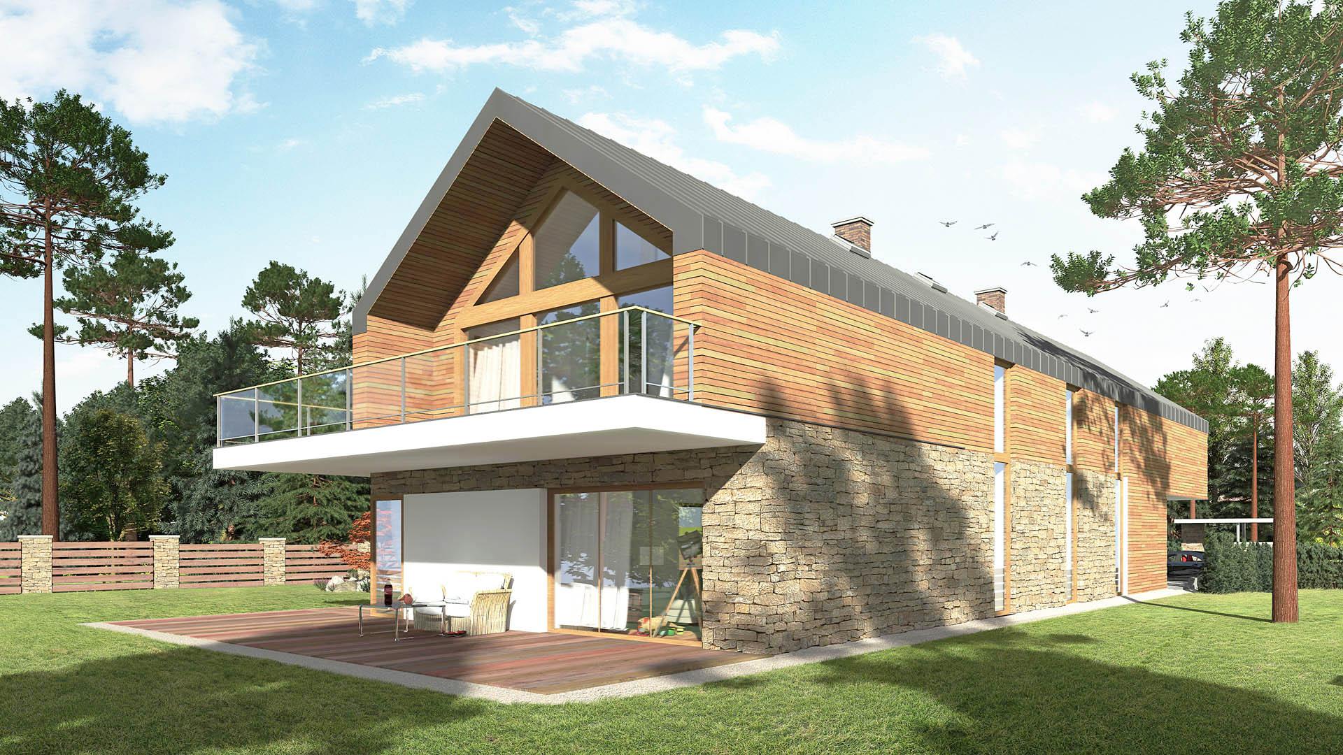 bielsko biała dom współczesna stodoła 03