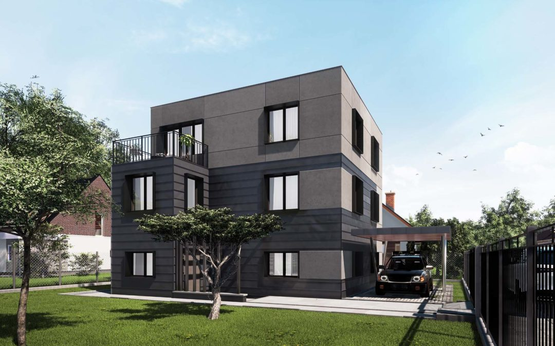Re – modeling budynku mieszkalnego -Bielsko-Biała
