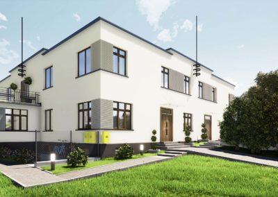 Przebudowa kamienicy – Bielsko-Biała